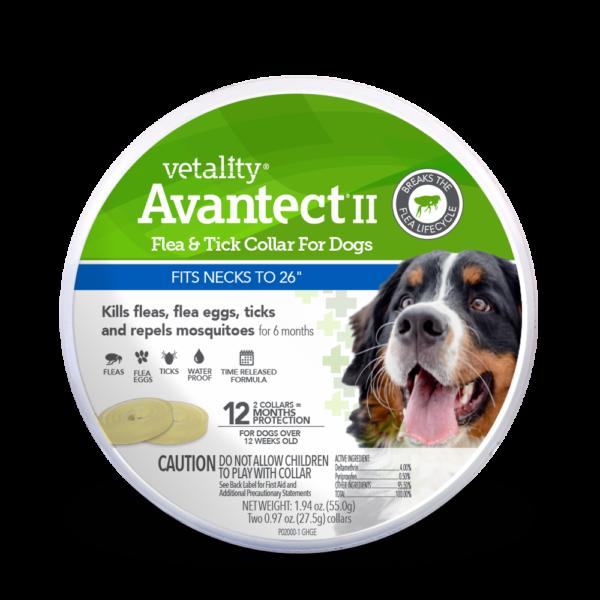 Vetality Avantect Flea Collar for Dogs