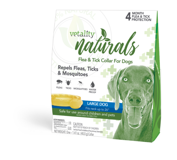 natural flea and tick collar for dogs