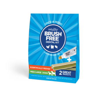 Brush Free Dental Kit for Dogs